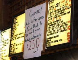 Beatty Street menu
