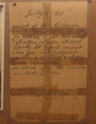 Original Beatty Street deed from 1940